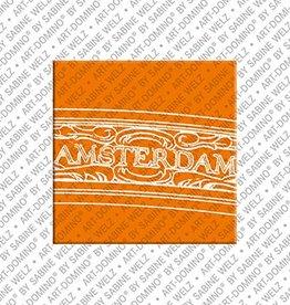 ART-DOMINO® BY SABINE WELZ Magnet Amsterdam - 13