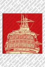 ART-DOMINO® BY SABINE WELZ Amsterdam – Museumsschiff Amsterdam