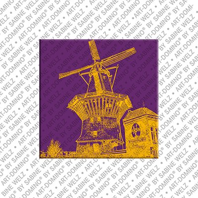 ART-DOMINO® BY SABINE WELZ Amsterdam – De Molen De Gooyer
