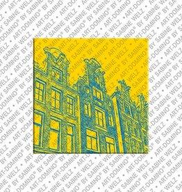 ART-DOMINO® BY SABINE WELZ Magnet Amsterdam - 19