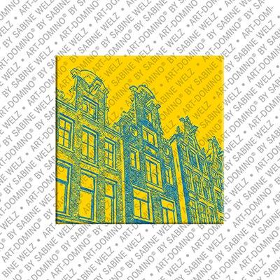 ART-DOMINO® BY SABINE WELZ Amsterdam – Grachtenhäuser