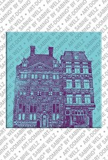 ART-DOMINO® BY SABINE WELZ Amsterdam – Rembrandt-Huis