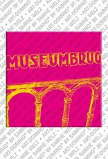 ART-DOMINO® BY SABINE WELZ Amsterdam – Museumsbrug