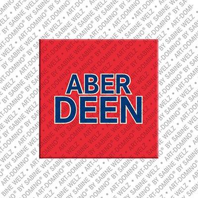 ART-DOMINO® BY SABINE WELZ Aberdeen – Schriftzug