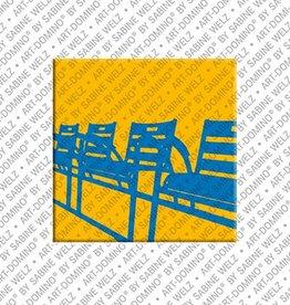 ART-DOMINO® by SABINE WELZ Magnet - Nice - 14