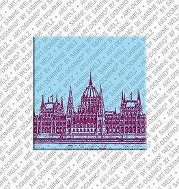 ART-DOMINO® by SABINE WELZ Magnet - Budapest - 01
