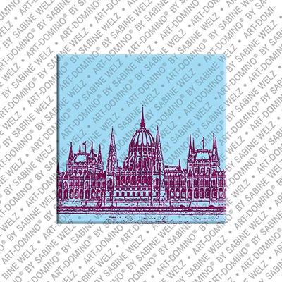 ART-DOMINO® by SABINE WELZ Budapest – Parliament building - 1