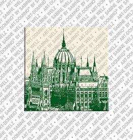 ART-DOMINO® by SABINE WELZ Magnet - Budapest - 04