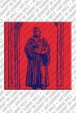 ART-DOMINO® by SABINE WELZ Wittenberg – Luther Memorial