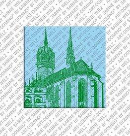 ART-DOMINO® by SABINE WELZ Magnet - Wittenberg - 04
