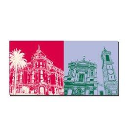 ART-DOMINO® BY SABINE WELZ LEINWANDBILD - NIZZA - 5601