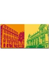 ART-DOMINO® by SABINE WELZ Nice - Town Hall + Opera