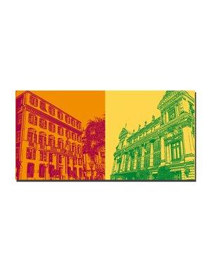 ART-DOMINO® BY SABINE WELZ Nizza - Rathaus + Oper