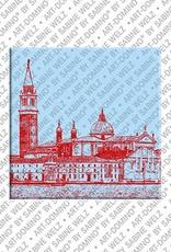 ART-DOMINO® by SABINE WELZ Venice - San Giorgio Maggiore