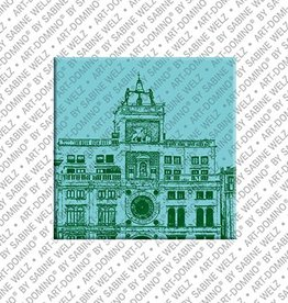 ART-DOMINO® by SABINE WELZ Magnet - Venice - 12