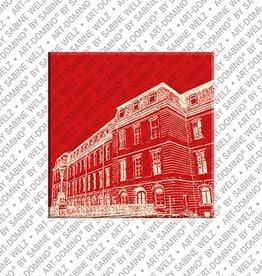 ART-DOMINO® by SABINE WELZ Magnet - Hanover - 07
