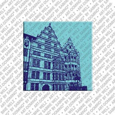 ART-DOMINO® by SABINE WELZ Hanover - Leibniz house
