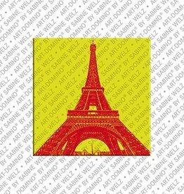ART-DOMINO® by SABINE WELZ Magnet - Paris - 08