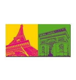 ART-DOMINO® by SABINE WELZ PICTURE ON CANVAS - PARIS - 4343