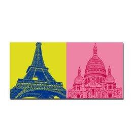 ART-DOMINO® BY SABINE WELZ IMAGE SUR TOILE - PARIS - 4345