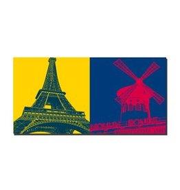 ART-DOMINO® BY SABINE WELZ IMAGE SUR TOILE - PARIS - 4320