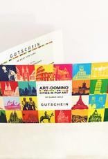 ART-DOMINO® by SABINE WELZ Geschenkgutschein im Wert von € 75