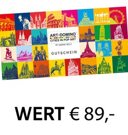ART-DOMINO® BY SABINE WELZ GESCHENK-GUTSCHEIN € 89