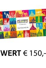 ART-DOMINO® by SABINE WELZ Geschenkgutschein im Wert von € 150