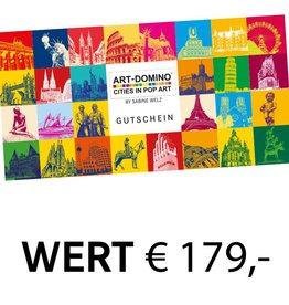 ART-DOMINO® by SABINE WELZ GESCHENK-GUTSCHEIN € 179