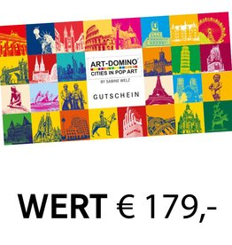 ART-DOMINO® by SABINE WELZ GIFT VOUCHER € 179