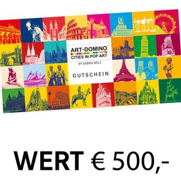ART-DOMINO® by SABINE WELZ GIFT VOUCHER € 500