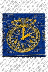 ART-DOMINO® by SABINE WELZ Monaco – Casino Monte Carlo - Clock