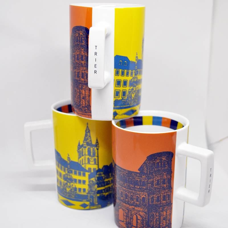 ART-DOMINO® by SABINE WELZ TRIER CITY-MUG 02