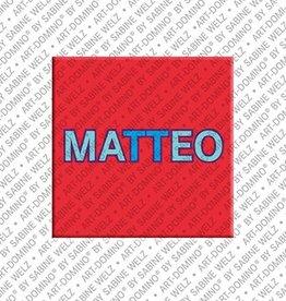 ART-DOMINO® by SABINE WELZ Magnet MATTEO