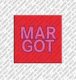 ART-DOMINO® by SABINE WELZ Magnet MARGOT