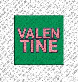 ART-DOMINO® by SABINE WELZ Magnet VALENTINE