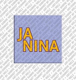ART-DOMINO® by SABINE WELZ Magnet JANINA