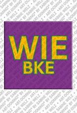 ART-DOMINO® by SABINE WELZ Wiebke – Magnet mit dem Vornamen Wiebke