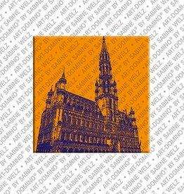 ART-DOMINO® by SABINE WELZ Magnet Brüssel - 05