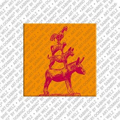 ART-DOMINO® by SABINE WELZ Bremen - Stadtmusikanten 2