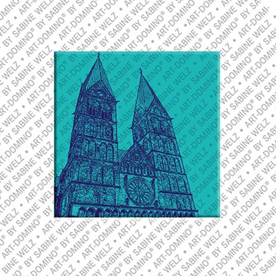 ART-DOMINO® by SABINE WELZ Bremen - St. Petri Dom