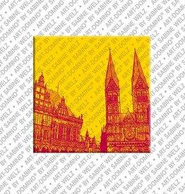 ART-DOMINO® by SABINE WELZ Magnet Bremen - 08