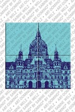 ART-DOMINO® by SABINE WELZ Hannover - Neues Rathaus