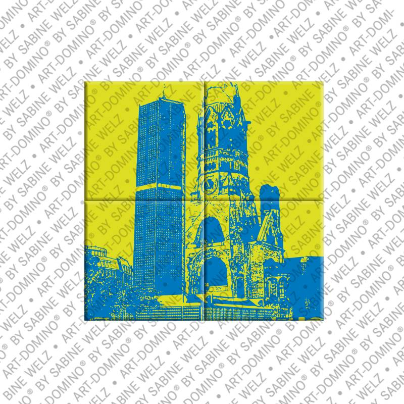 ART-DOMINO® by SABINE WELZ Berlin - Kaiser Wilhelm Memorial Church 2