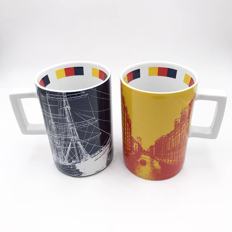 ART-DOMINO® by SABINE WELZ HAMBURG CITY-MUG - 05
