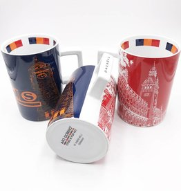 ART-DOMINO® by SABINE WELZ CITY-MUG HAMBURG - 06