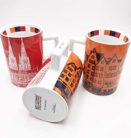 ART-DOMINO® by SABINE WELZ CITY-MUG COLOGNE- 01