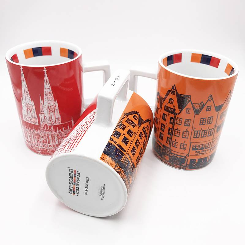 ART-DOMINO® by SABINE WELZ COLOGNE CITY-MUG - 01