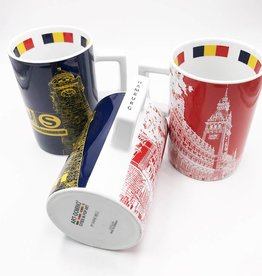 ART-DOMINO® by SABINE WELZ CITY-MUG HAMBURG - 09
