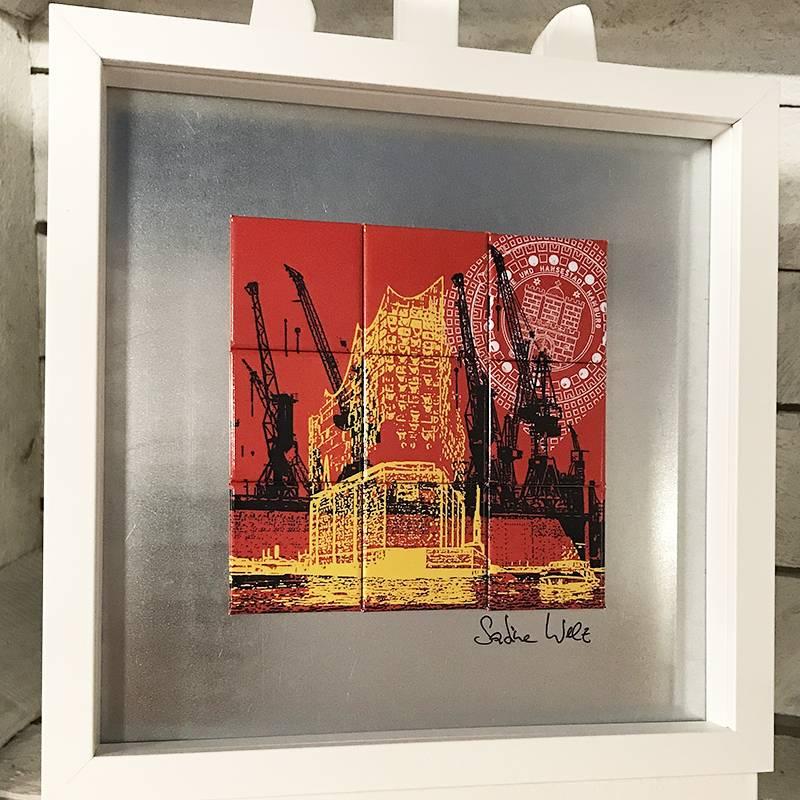 ART-DOMINO® by SABINE WELZ Hamburg – Collage
